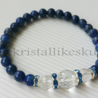 lapis lazuli, mäekristall